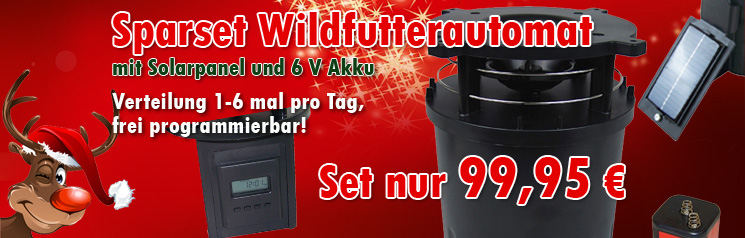 Set Wildfutterautomat 31404