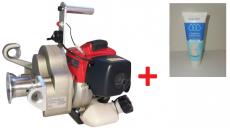 Sonderangebot Motor-Spillwinde,  mit Kawasaki Motor TJ-35E, 1,0 kw/1,38 PS, 35ccm + Handgel