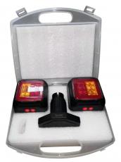 Funk LED Anhängerbeleuchtung mit LiOn Akku