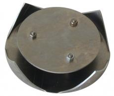 Metall-Einsatz für Kirrohr