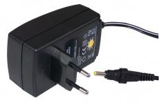 Netzadapter 6 V, 600mA für 31417, 31647, 31648, 31881, 32034