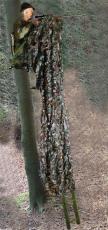 Sparset Aluminiumansitzleiter + Tarnnetz 2x3 m