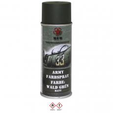 Farbspray, Markierungsfarbe WALD GRÜN, matt, 400 ml
