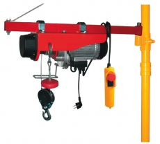 Seilzug elektrisch 125/250 kg, 200/400 kg, 300/600 kg, 495/990 kg