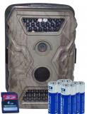 12 MP Wildkamera X-trail mit 8 Batterien und 4 Gb SDKarte Sparset + Waidlochauslöser