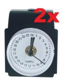 24h Analog-Uhr zum Nachrüsten 20 Jahre Set