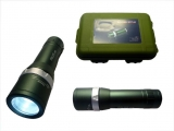 LED Taschenlampe bis 3W Cree LED in Box