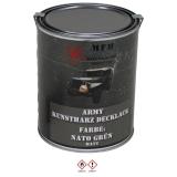 Farbdose, Markierungsfarbe NATO GRÜN, matt, 1 Liter