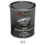 Farbdose, Markierungsfarbe WALD GRÜN, matt, 1 Liter