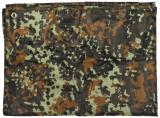 Mehrzweckplane, Tarp, flecktarn, 200 x 300 cm